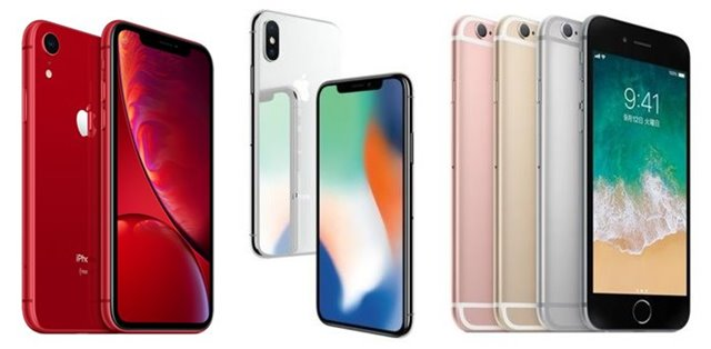 iPhoneXR X 6s画像