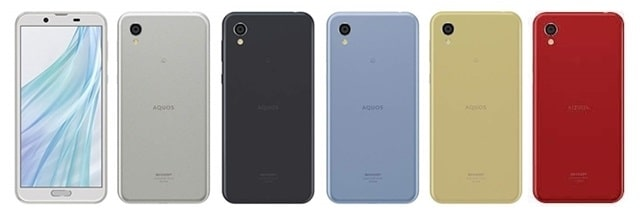 AQUOS sense2 SIMフリー版本体カラー