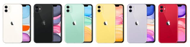 iPhone11の人気色