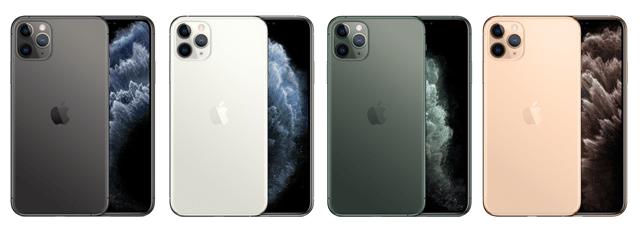 iPhone11MaxProの人気色