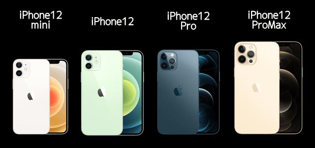 iPhone12の人気色・容量