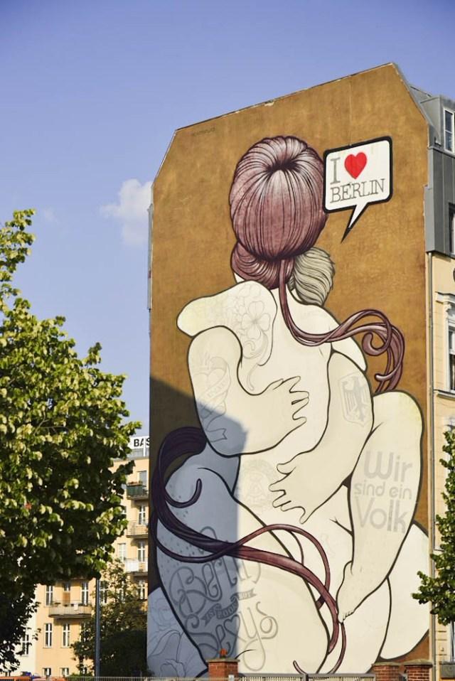 ドイツ、ベルリンの壁、I love berlin