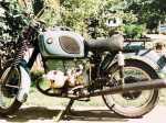 タイで中型バイクに乗る
