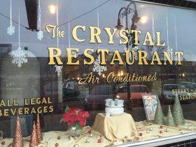 ニューヨークのクリスタルレストラン
