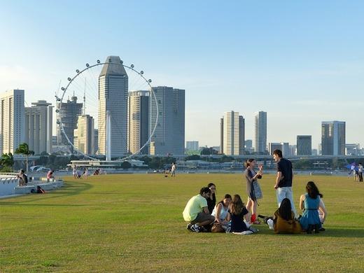 シンガポールで海外勤務