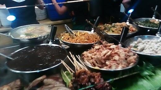 フィリピン料理の店