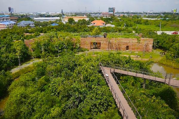 パー・ナイ・クルン(都会の森)の展望台