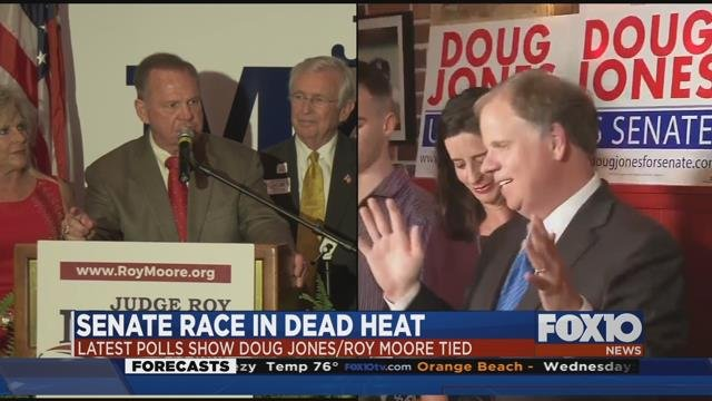 Image result for photos of roy moore and doug jones