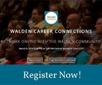 Walden Connections Networking event
