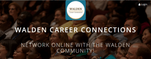 Walden Career Connections Networking event