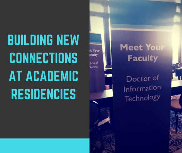 Building New Connections at Academic Residencies