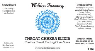 Throat Chakra Elixir
