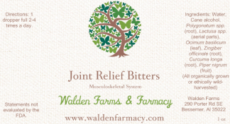 Joint Relief Bitters