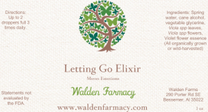 Letting Go Elixir