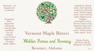 Vermont Maple Bitters