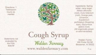 Balancing Cough Syrup