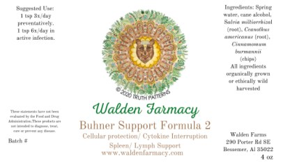 Buhner Support Formula 2