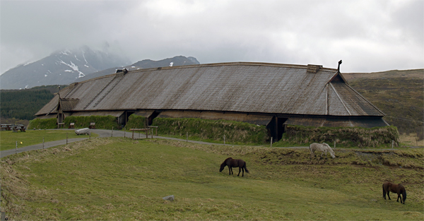 A Norse Longhouse