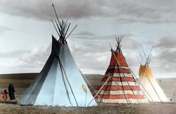 Tipis (also spelled Teepees) are tent-like American Indian houses used by Plains tribes. A tepee is made of a cone-shaped wooden frame with a covering of ... & 15 Ancient House Designs That You Can Build Really Cheap ...