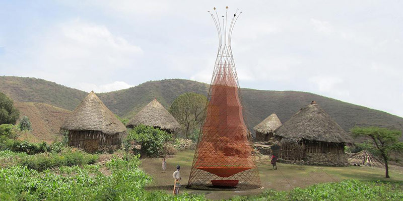 Warka Water Collector