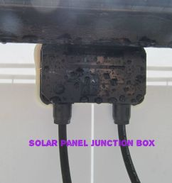 solar panel junction box wiring [ 1024 x 768 Pixel ]