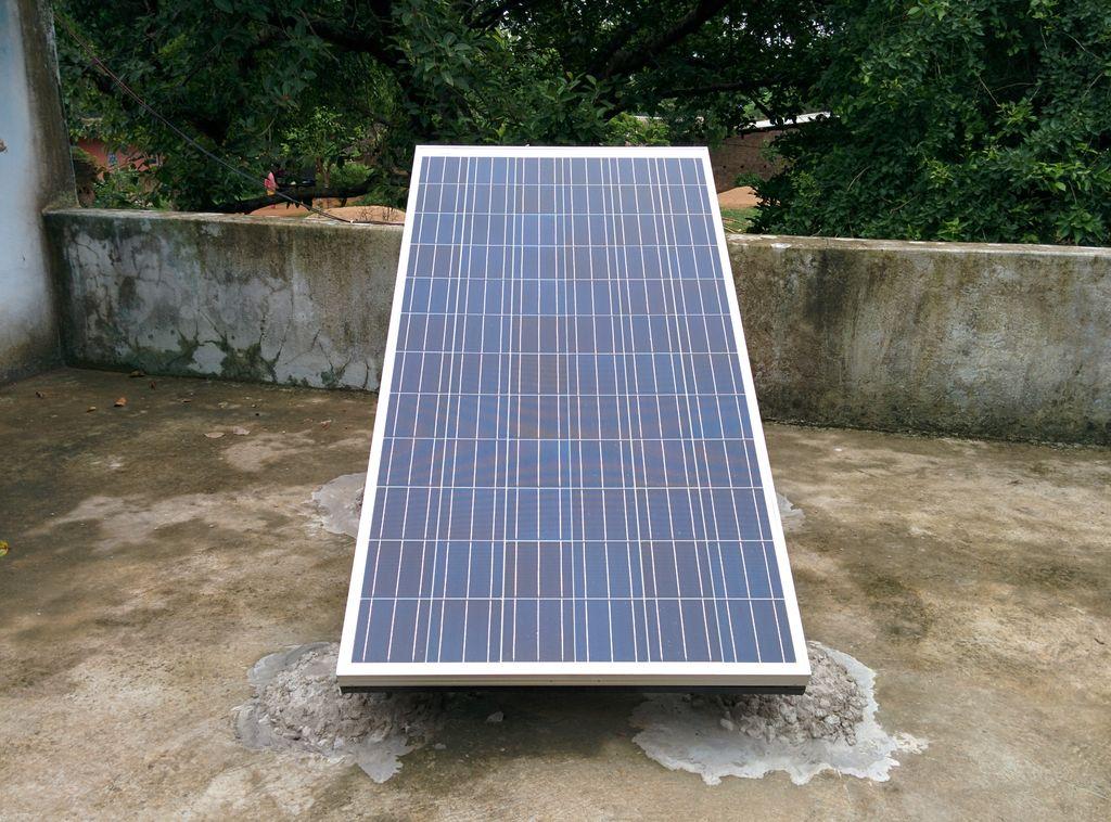 255W solar panel