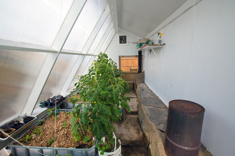 Verge Permaculture's Greenhouse