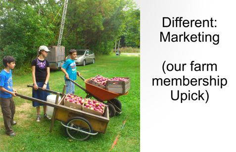 Upick farm membership