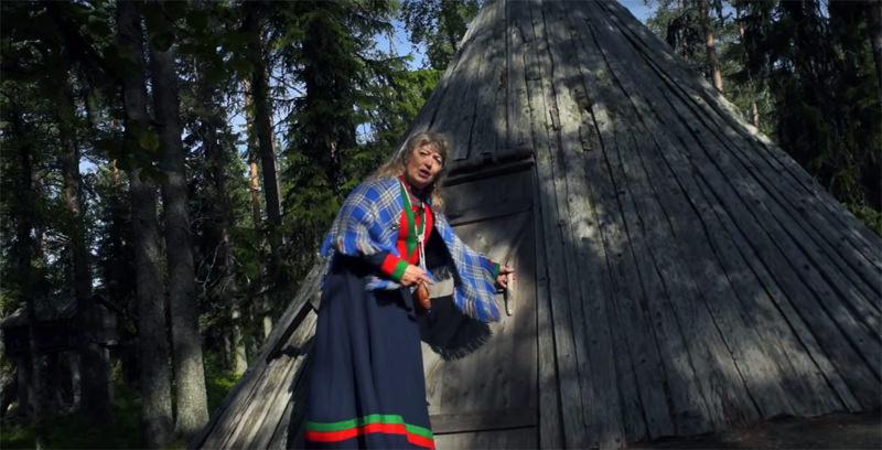 A Sami summer shelter