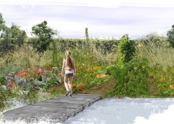 Jardin 3 Natures Chaumont-sur-Loire Walden Paysage