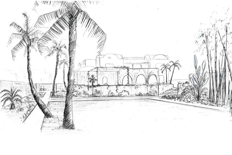 Walden Paysage Jardin Tunisie Sfax Hispano-Mauresque