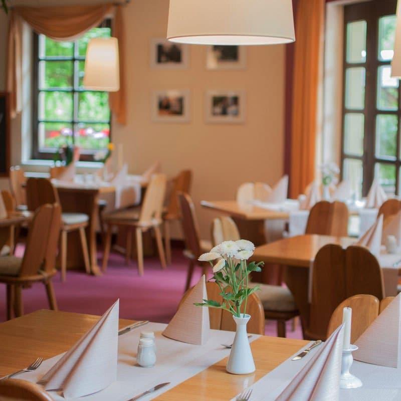 Restaurant Waldfrieden, Gastraum