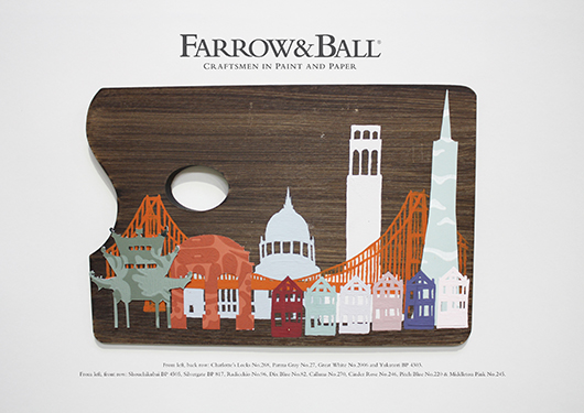 City Palettes San Francisco Farrow & Ball