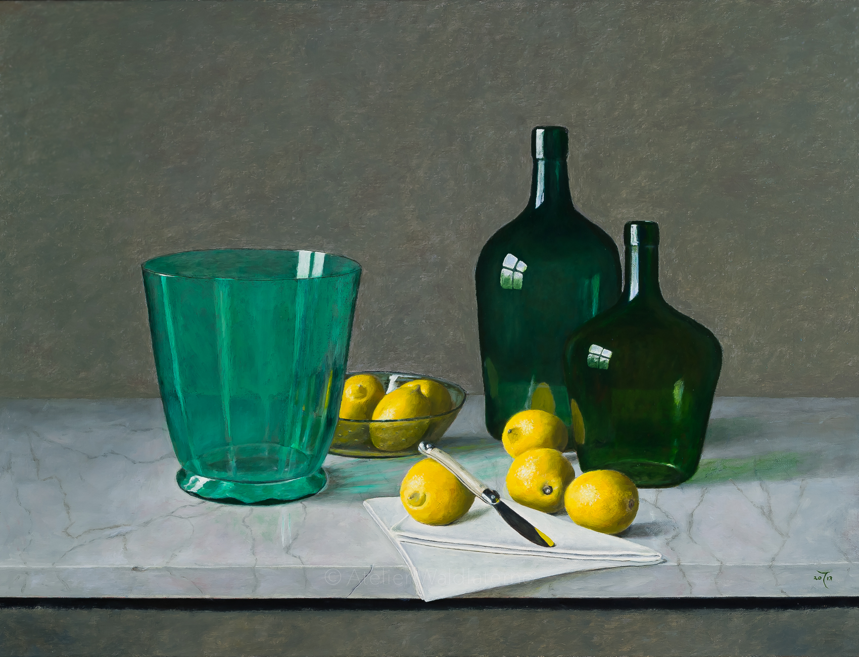 Glass and Lemons