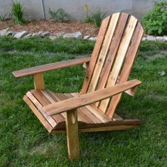 Adirondack Chair Plan Oversized Round Diy Our Waldo Bungie