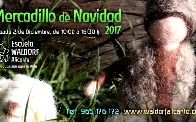 Mercadillo de Navidad 2017 · Sábado 2 de Diciembre, de 10:00 a 16:30h
