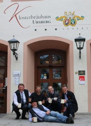 Klosterbrauerei Ursberg mit Gasthaus und Hotel