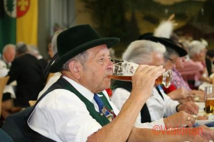 Der Meringer Trachtenverein Almarausch feiert sein 105 jähriges Bestehen