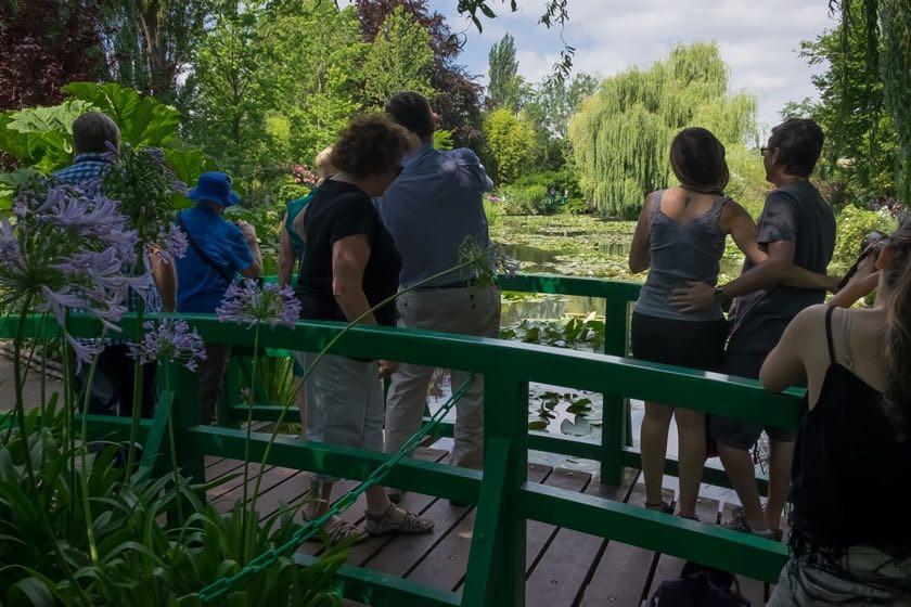 Die japanische Brücke von Monet | Waldspaziergang.org
