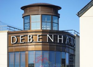 Wales based Debenhams stores spared the axe as twenty-two stores look set to close