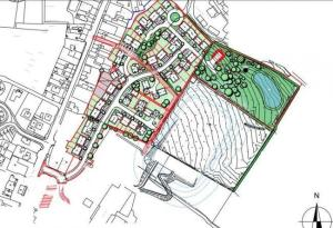 Plan for 56 houses in Crymych back before planning committee