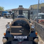 Porthcawl land train attraction due to open