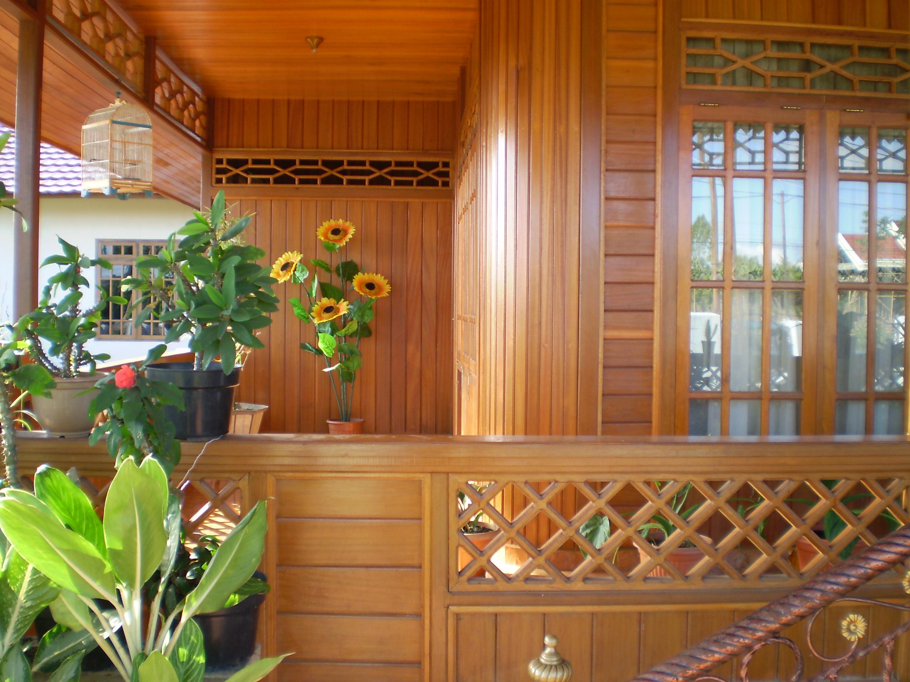 Desain Rumah Panggung Bambu