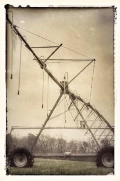 Irrigation tower