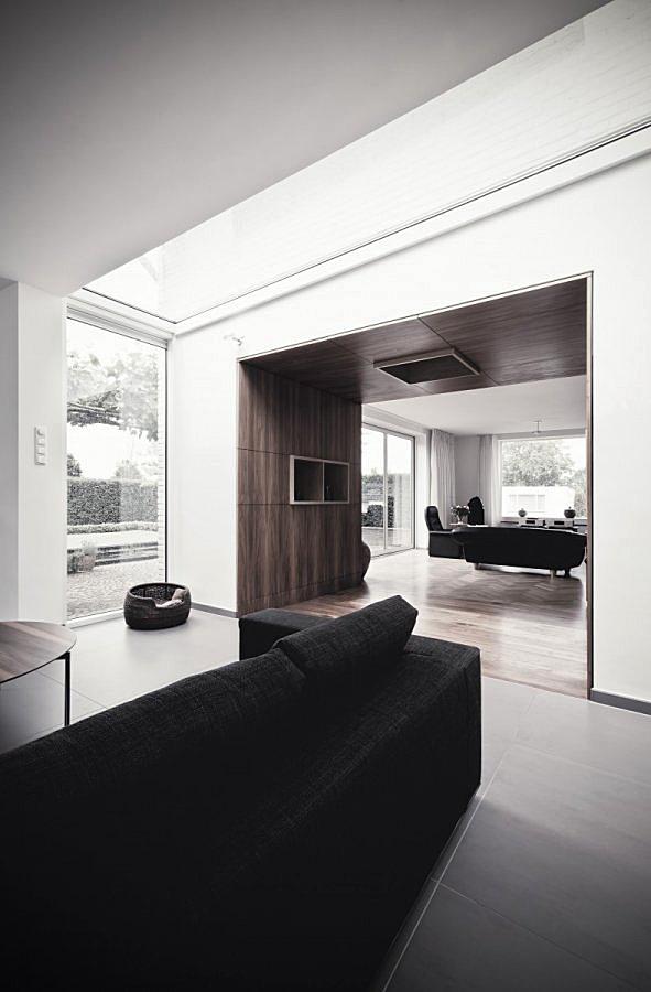 Aanbouw D met hout glas en lichtstraat  walhallacom