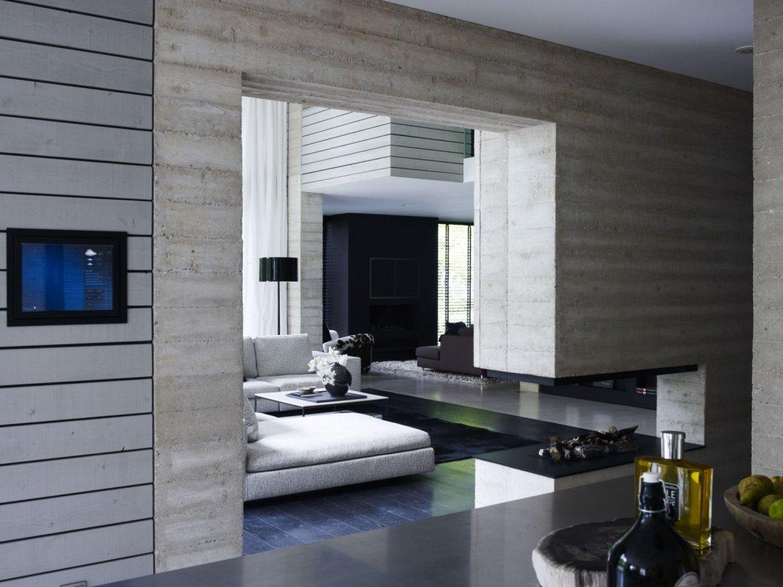 Modern interieur met beton  walhallacom