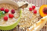 porridge & fruit