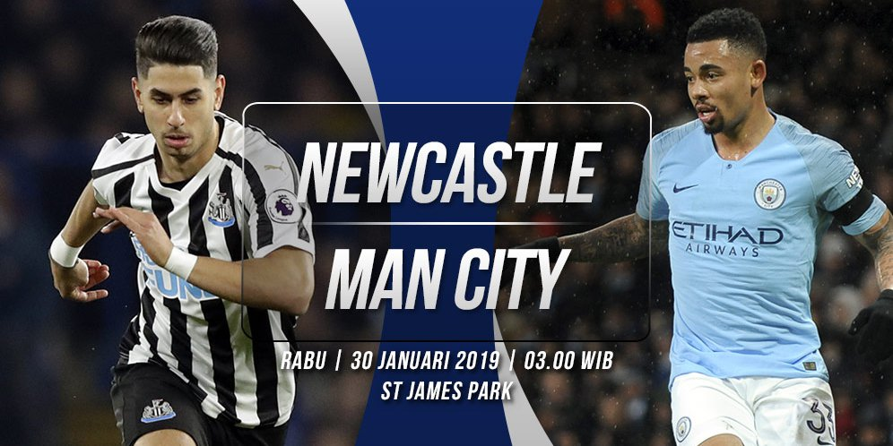 NEWCASTLE VS MANCHESTER CITY DI LIGA PREMIER