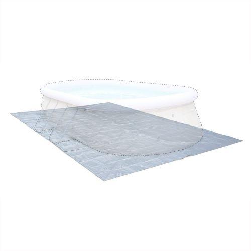 tapis de sol pour piscine gris 583x390cm