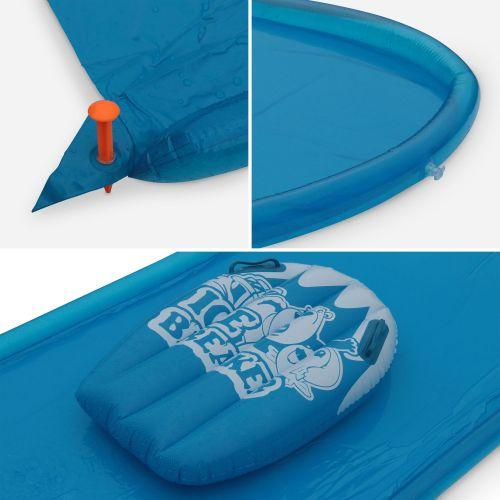 tapis de glisse a eau 5 m ventriglisse tibo ice